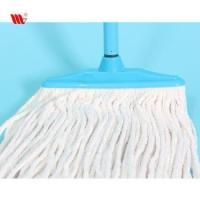 China Trade assurance Hot sale 2037-IST Premium Cleaning floor Cotton Mop head with iron stick on sale