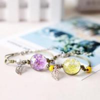 Wholesale Gypsophila Glass Ball Bracelet from china suppliers