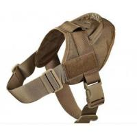 Wholesale Dog harness Product Name:Tactical dog harness from china suppliers