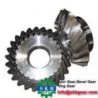 China Speed Ratio 7 40 spiral bevel gear on sale