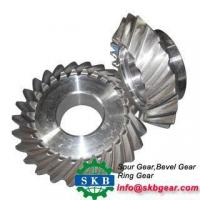 China Rear Drive Axle Gear Spiral Bevel Gear for Horse Power Tractor on sale