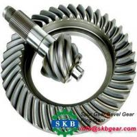 Long life screw jack spiral bevel gear in China wheel