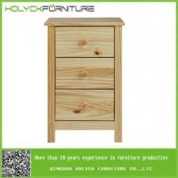 Wholesale 24 inch nightstand cabinet with drawers with clear coat from china suppliers