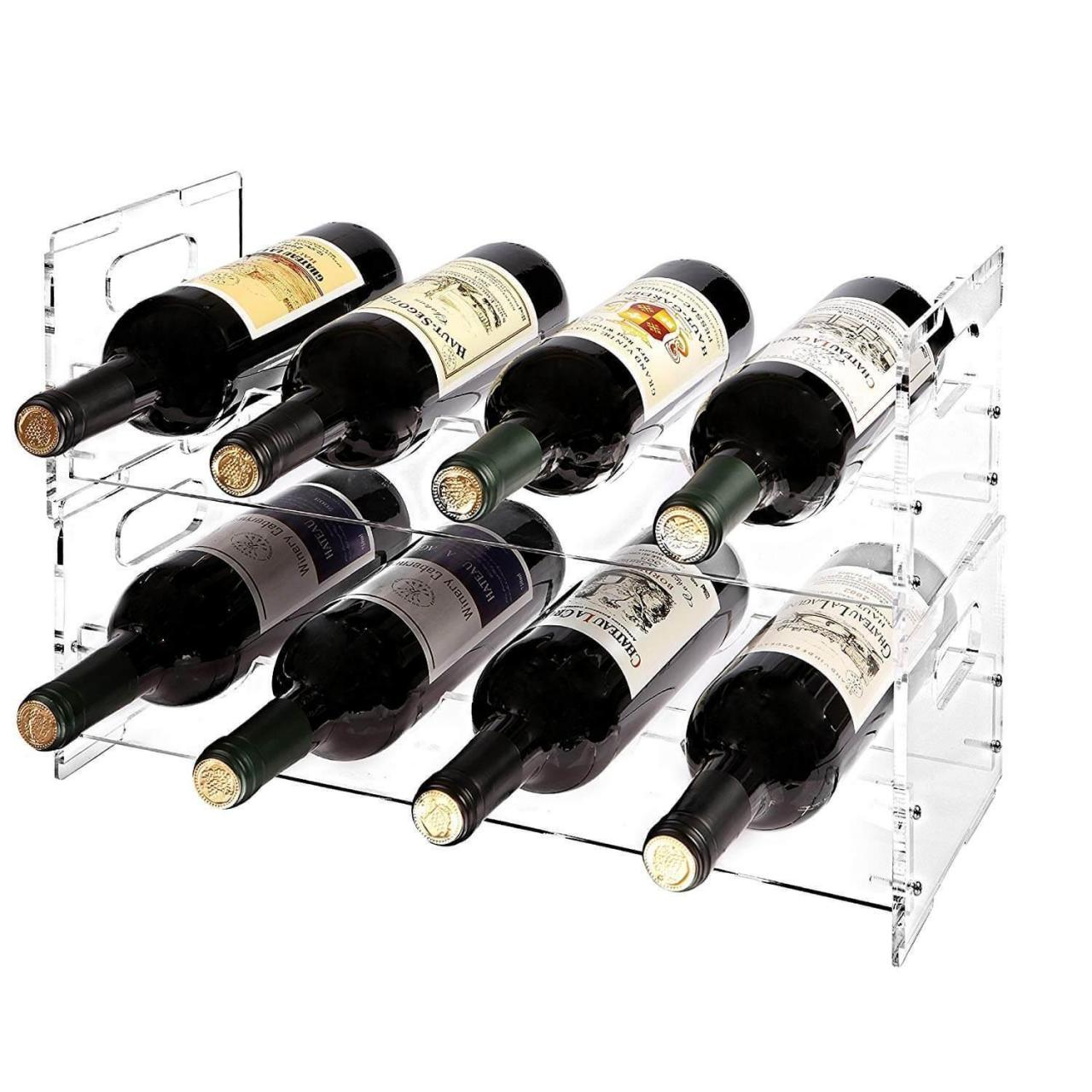 Wholesale Acrylic Display Acrylic Wine Rack from china suppliers