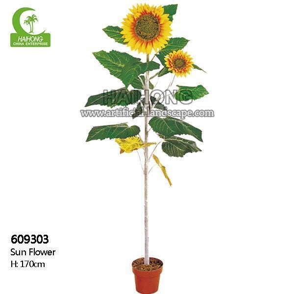 Quality Haihong Insights Artificial Sunflower for sale