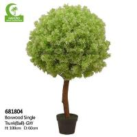 Wholesale Haihong Insights Artificial Plant Boxwood Single Trunk(ball) from china suppliers
