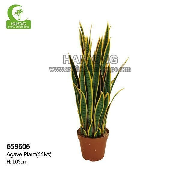 Quality Haihong Insights Artificial Plant Artificial AgavePlant for sale