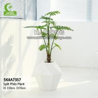 Haihong Insights Artificial Plant Artificial Split Philodendron Plant