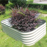 Wholesale Hot Dipped Galvanized Metal Large Garden Bed from china suppliers