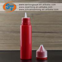 Plastic Squeeze Bottles With Leak-Proof White Cap