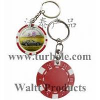 Wholesale Poker Chips Keychains, Poker Chips Keyring from china suppliers
