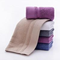 Wholesale Towel Solid Color Family Bathroom Hand Towel from china suppliers