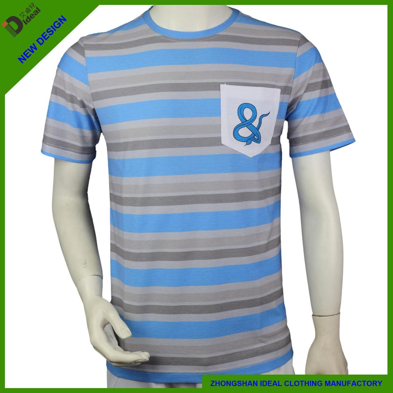 Wholesale T-shirt Polycotton Crew Neck Man T-shirt from china suppliers