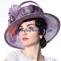 China Organza hats Product Ladies Sinamay Hat MM-0057 on sale