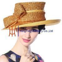 Wholesale Organza hats Product New Sinamay Hat MM-0067 from china suppliers