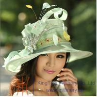 China Organza hats Product New Sinamay Hat MM-0001 on sale