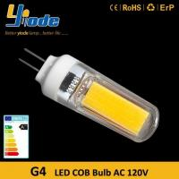 Wholesale G4 Bulb 220V Dimmable COB G4 LED Bulb from china suppliers
