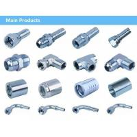 Buy cheap high quality carbon steel or steel hydraulic fitting/hydraulic hose fittings from wholesalers