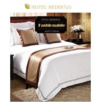 Wholesale Hotel Bed Linen Luxury Bedding White Sheets Linen Bedding Set from china suppliers