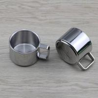 Stainless steel cover and container Child cup