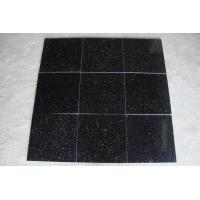 Wholesale India Black Galaxy Granite Polished Tiles from china suppliers