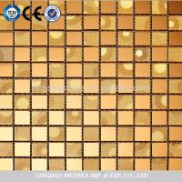 Gold Foil Glass Mosaic