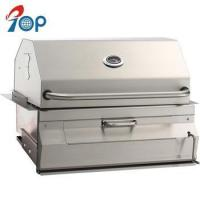 Wholesale High End Built-in Stainless Steel Charcoal BBQ Grill and Cart from china suppliers