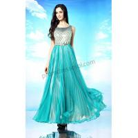China Pool Jewel Sleeveless Sequins Party Dress with Belt SY166 on sale