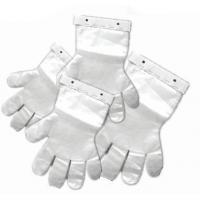 Wholesale pe glove on block with head from china suppliers