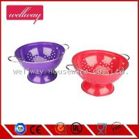 Stainless steel Colander with two handles vegetable