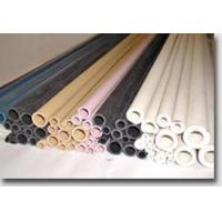 High-temperature resistant white tubes