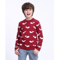 Wholesale Boys sweater Small dolphin boy sweater