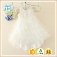 China Latest Baby Toddlers Infant dresses Wholesale clothes Baptism new baby on sale