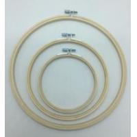 China Hot sale round bamboo embroidery hoop made in China on sale