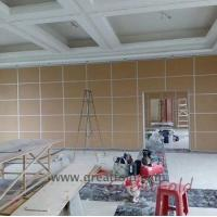 Wholesale Factory Hot Sales hand carved wood room divider fountain screen canvas for canteen from china suppliers