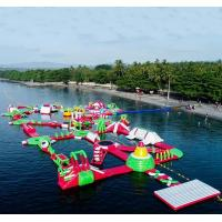 China Inflatable Water Park UK on sale