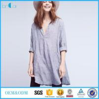 Wholesale Plus Size Linen Blouse from china suppliers