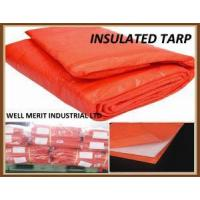 Wholesale 8X8 Weave Concrete Curing Blanket HDPE Cover Insulated Tarp Tarpaulin from china suppliers