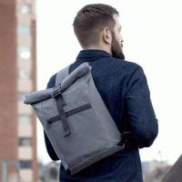 New trendy roll top messenger backpack manufacturer with one strap inquiry