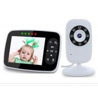 2017 newest amazon hot 3.5inch video baby monitor wireless baby monitor