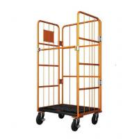 China Roll Container movable foldable roll container table trolley roll trolley with wheels on sale