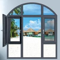 Wholesale Aluminium casement window with mosquito net from china suppliers