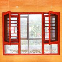 Wholesale casement window with protective grill from china suppliers