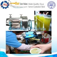 Wholesale Manual small sugarcane juice press machine from china suppliers