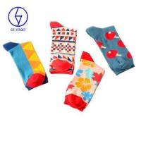 China High quality colorful cotton dress socks mens fashion socks on sale