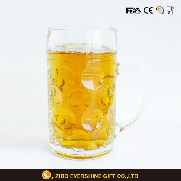 Quality Frozen Drink Glass Beer Mug Tankards for sale