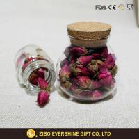 Wholesale New Items Food Storage Glass Mason Jar with Wooden Lid from china suppliers