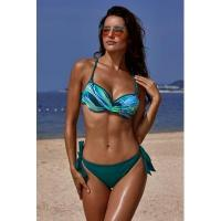 Wholesale Green Printed Top Self-tie Panty Swimwear #LC411053-9 from china suppliers