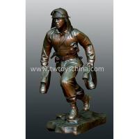 Wholesale Statues Of Firefighter In Poly Resin from china suppliers