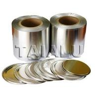 China Coated Aluminum Lidding Foil for Powder Milk Can on sale